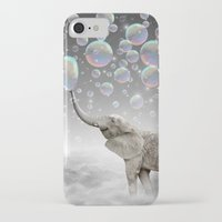dreams iPhone & iPod Cases featuring The Simple Things Are the Most Extraordinary (Elephant-Size Dreams) by soaring anchor designs