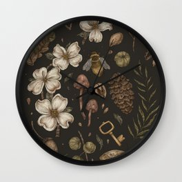 Nature Walks Wall Clock
