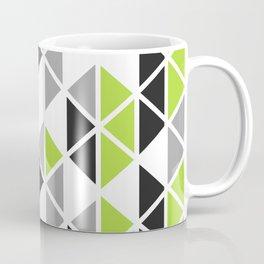 Triangular Vitrail Mosaic Pattern V.07 Coffee Mug