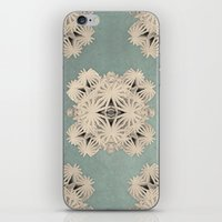 cyberpunk iPhone & iPod Skins featuring Ancient Calaabachti Filigrane by Obvious Warrior