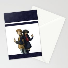 Blue and Hige Stationery Cards