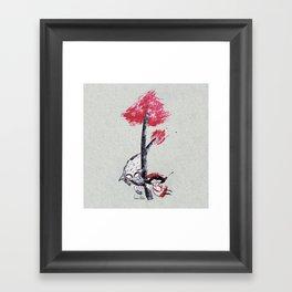 Caperucita Framed Art Print
