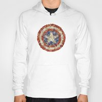 steve rogers Hoodies featuring Steve Rogers' Garden by Joan-of-here