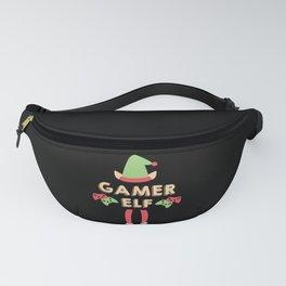 Gaming - Merry Christmas Gamers - Gamer Elf Fanny Pack