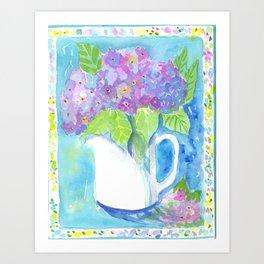 Be Bold Hydrangea Art Print