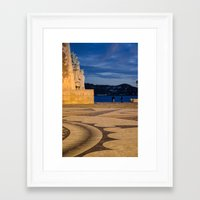 portugal Framed Art Prints featuring Portugal by Sébastien BOUVIER