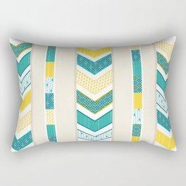 Sunshine Chevron Rectangular Pillow