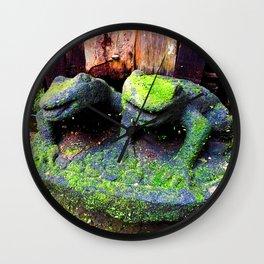 The Frog Princes Wall Clock