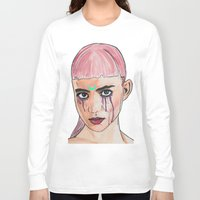 grimes Long Sleeve T-shirts featuring SCREWSTON GRIMES by hipporacle