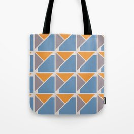 Retro Geometry surface pattern Tote Bag