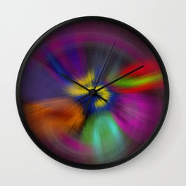 color circulo Wall Clock
