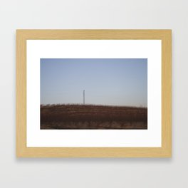 There and back XV Framed Art Print