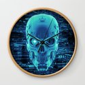 Gamer Skull BLUE TECH / 3D render of cyborg head by grandeduc