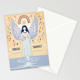 Forgive yourself Stationery Cards