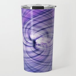 Purlple Vortex Travel Mug