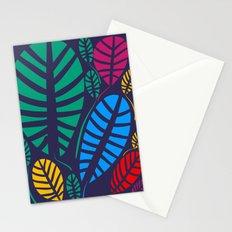 Jungle Night Pattern Floral Decoration Stationery Cards