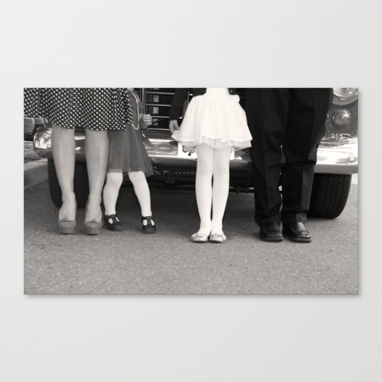 Side By Side Canvas Print