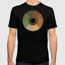 Coffee Flavor Wheel T-shirt