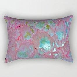 Pink Agate Formation Rectangular Pillow