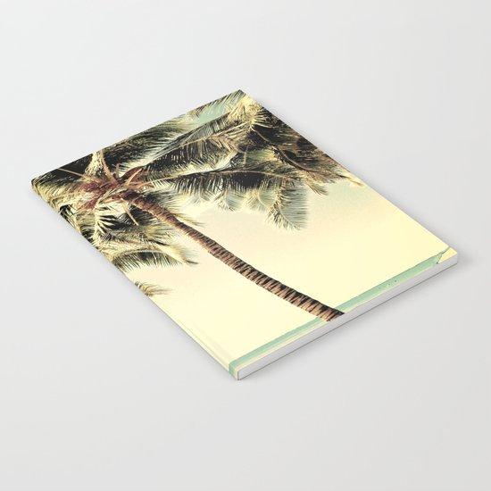 Retro Vintage Palm Tree with Hawaii Summer Sea Beach by lifeisbeautiful