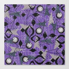 Mid Century Atomic Arrow Patterns Canvas Print