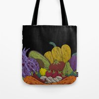 cook Tote Bags featuring Cook by elvia montemayor