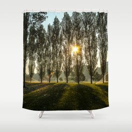 Penn State Arboretum Shower Curtain