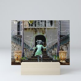 Ghost in a Madeira Mansion. Mini Art Print