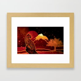 Save Them Framed Art Print
