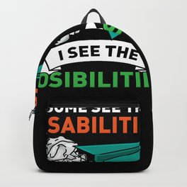 SPED Special Education Teacher Backpack