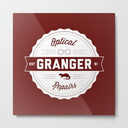 Granger Optical Repair Metal Print