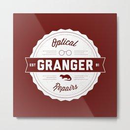 Granger Optical Repair Metal Print