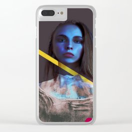 Transcendence Clear iPhone Case