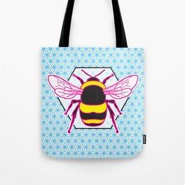Geometric Bumblebee Tote Bag
