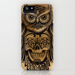 Owl Tattoo  iPhone Case
