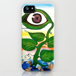 Life - from a surreal point of view iPhone Case