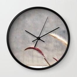 brentwood weeds Wall Clock