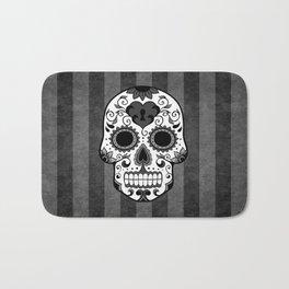 Día de los Muertos - Grey Bath Mat