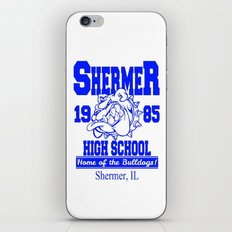 The Breakfast Club  |  Shermer High School Logo  |  John Hughes Universe iPhone & iPod Skin