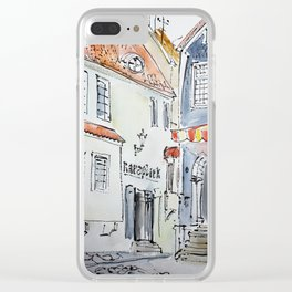 bright Tallin Clear iPhone Case