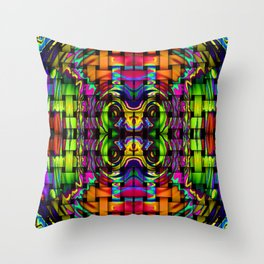 COLORFUL 66.1 Throw Pillow