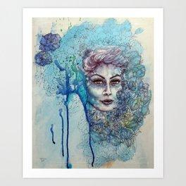 Anita Art Print