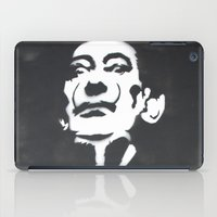 salvador dali iPad Cases featuring Salvador Dali Stencil by Michellehill