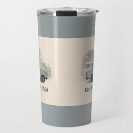 A Trabant in Karl-Marx-Stadt Travel Mug