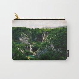 veliki slap waterfall 1 plitvice lakes national park croatia blockbuster Carry-All Pouch