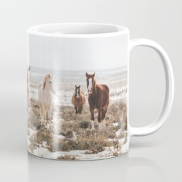 Mustangs of Colorado River Coffee Mug
