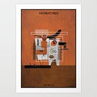 01_ARCREATURES-01 Art Print