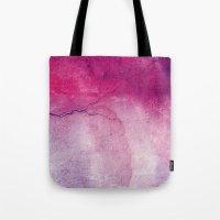 broken Tote Bags featuring broken by Claudia Drossert
