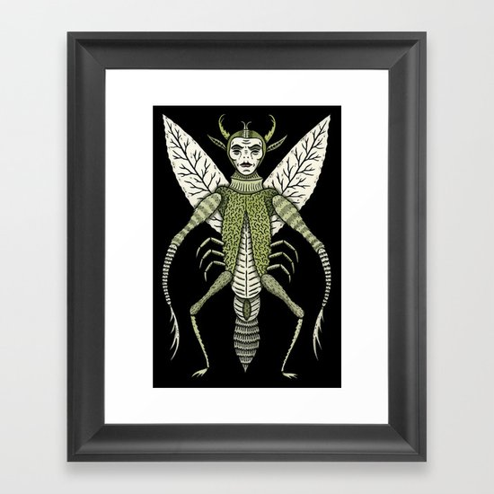 Ten-Legged Creepy Crawly Framed Art Print
