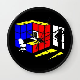 Rubix Cubicle Wall Clock